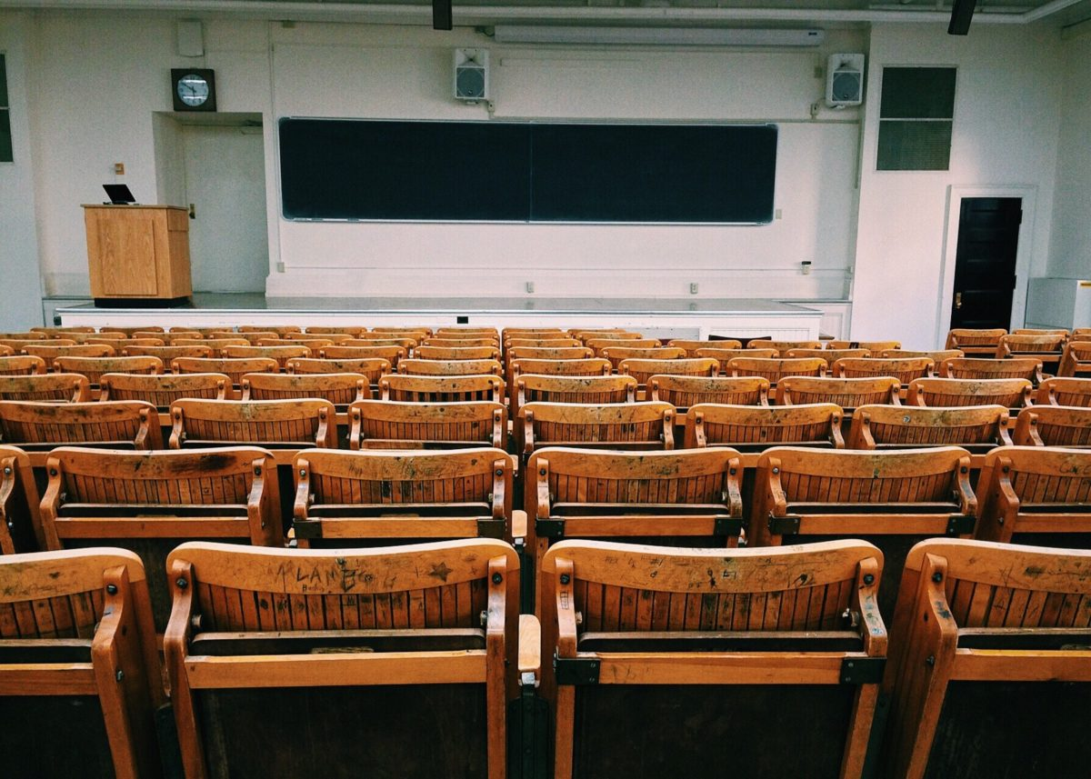 Empty clasroom