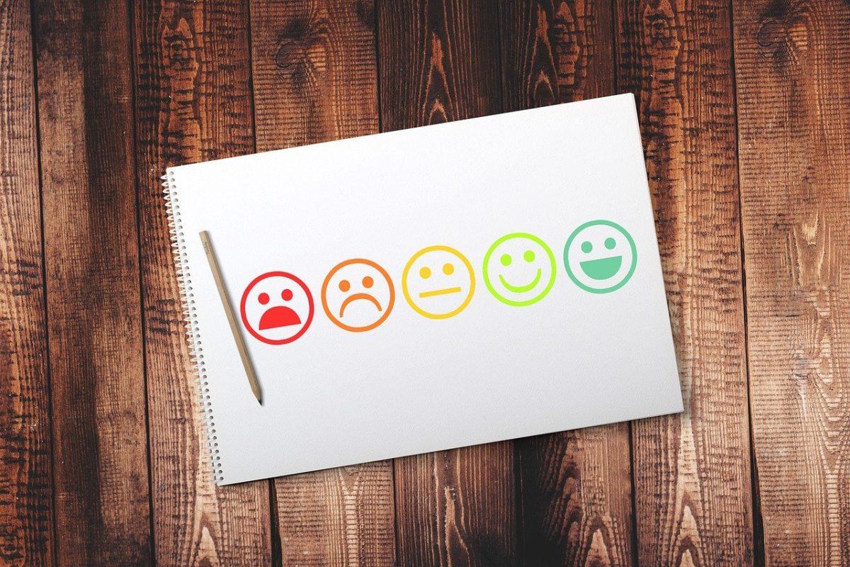 Smiley's for survey. Photo by Tumisu from Pixabay