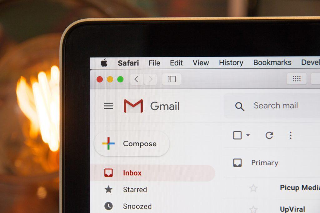 Gmail Inbox Screen