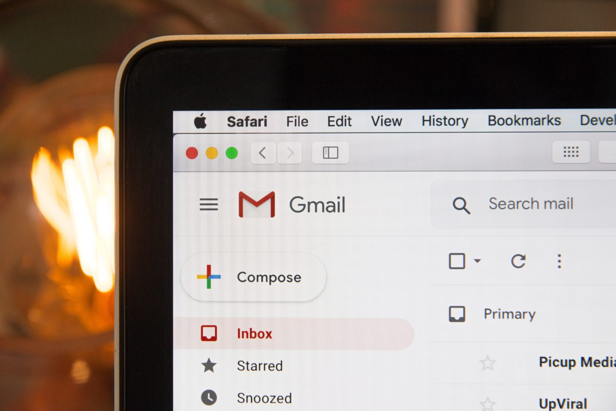 Gmail Inbox Screen