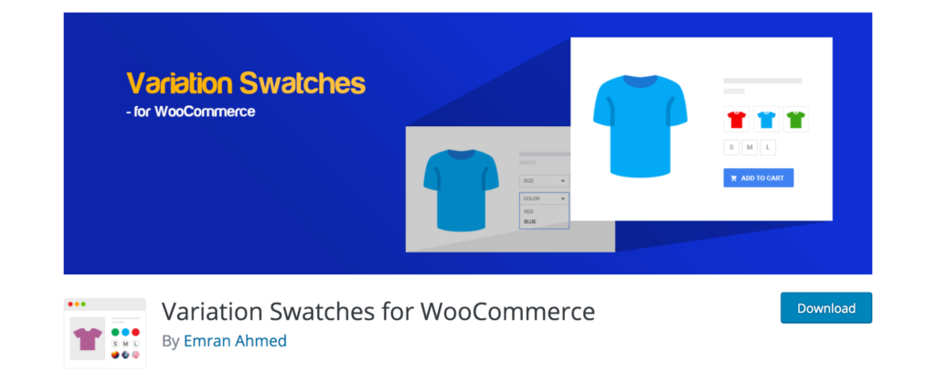 Color Swatches WooCommerce extension
