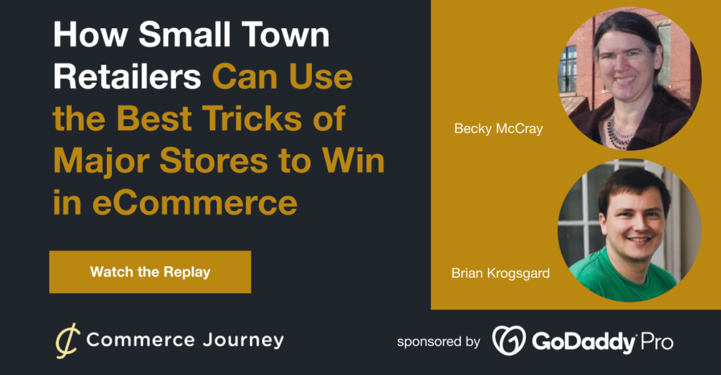Becky McCray on the Small Town eCommerce Advantage