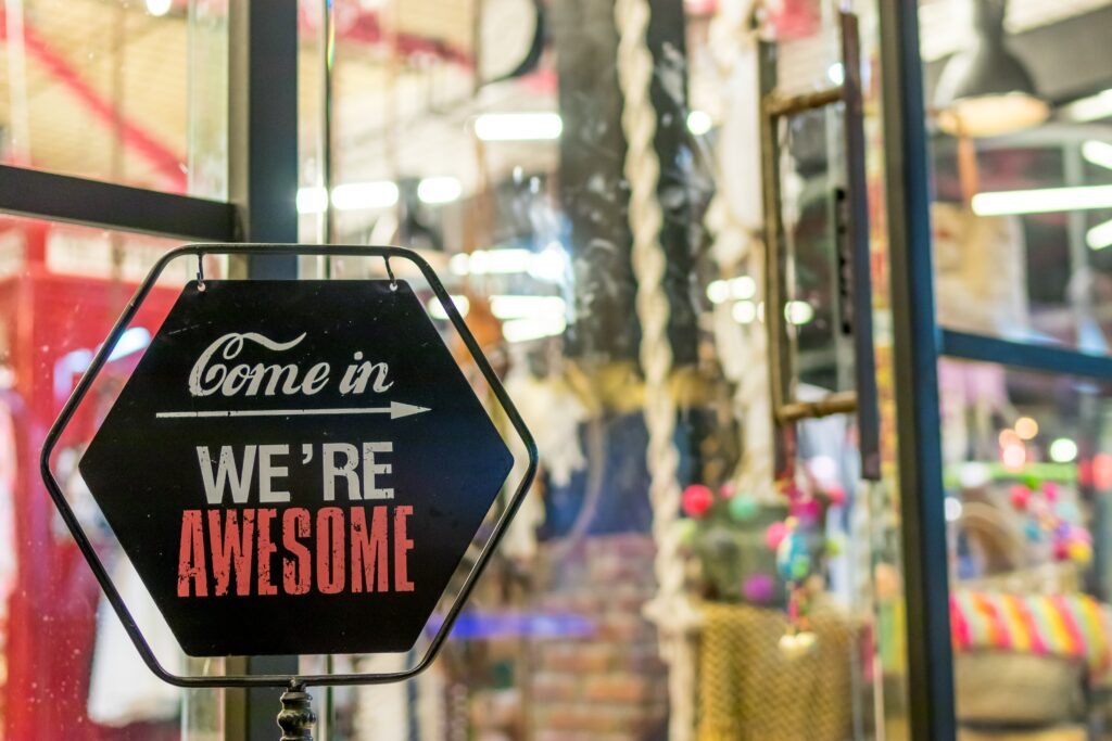 Small businesses have big personalities