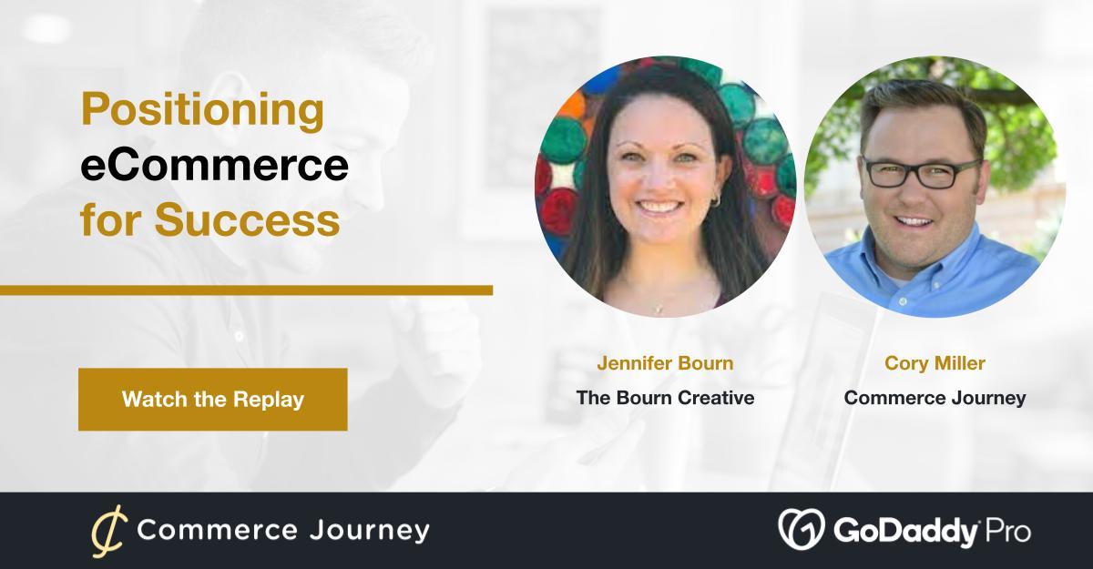 Webinar slide with Jennifer Bourn and Cory Miller